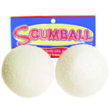 Scum Ball absorbs oils, lotion and foam to keep pool or spa water clean. Just place Scum-Ball into your pool or hot tub to prevent scum lines and foaming.